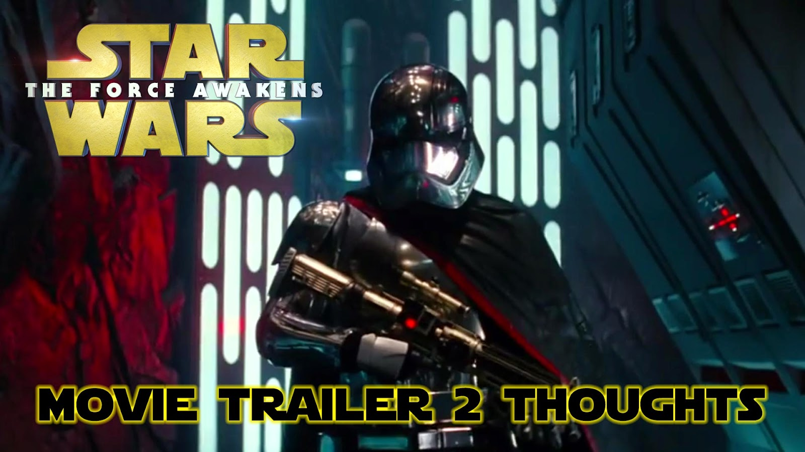 reaction to trailer for The Force Awakens Episode 7 Star Wars teaser #2