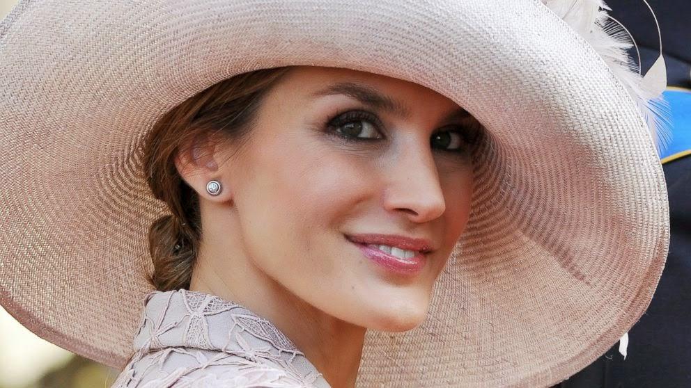 Image result for 5. Princess Letizia – Puteri Diraja Sepanyol