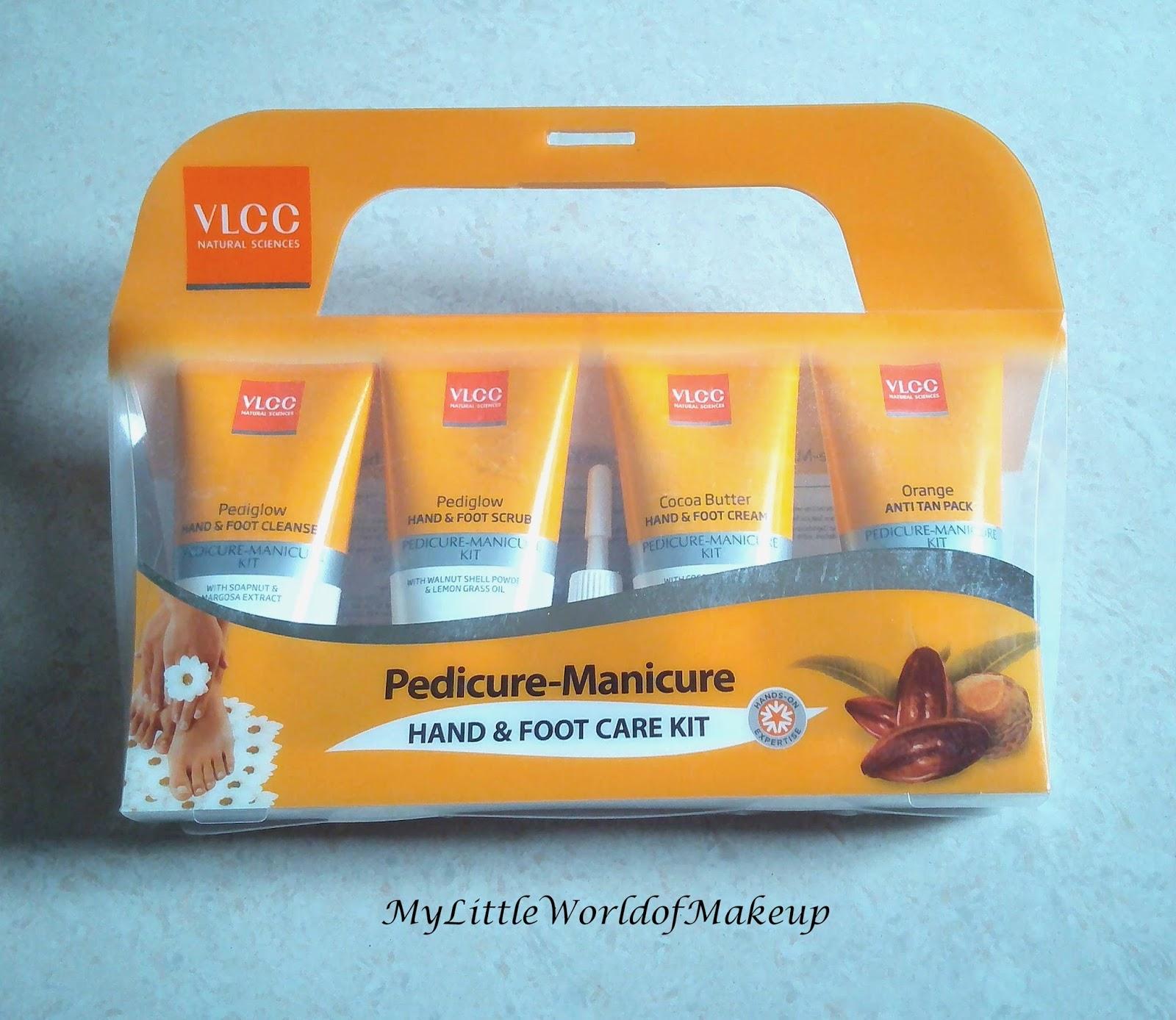 VLCC Pedicure Manicure Kit Review