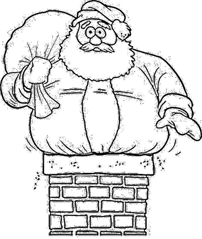 Christmas Santa Claus Drawings | Christmas Wallpaper