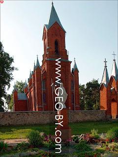 Ивенец. Костел Святого Алексея. Ангел