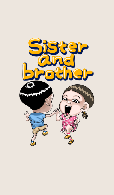 Sister and brother4