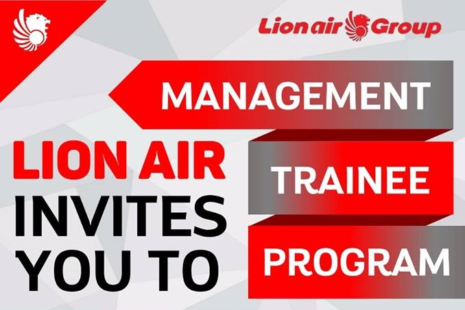 Lowongan Kerja Management Trainee Lion Air Group