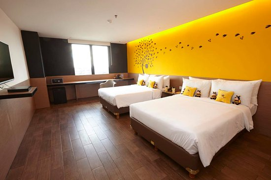Kamar Hotel Yellow Bee