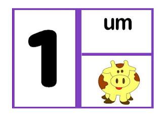 Números para educação Infantil (cartaz de parede)