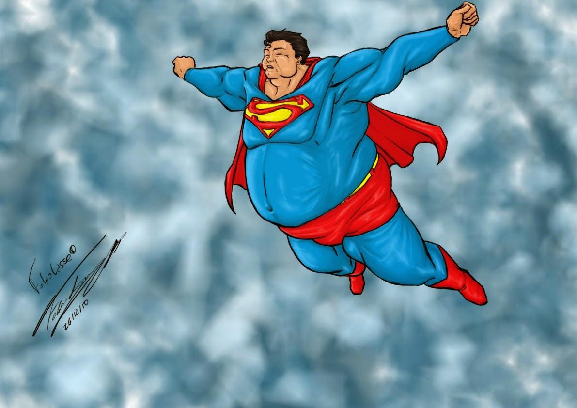 Картинка прикол супермен