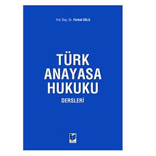 Anayasa Hukuku ve Türk Anayasa Tarihi