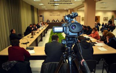 Πρόσκληση τακτικής συνεδρίασης Δημοτικού Συμβουλίου