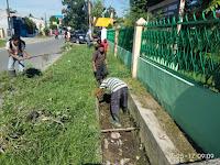 Drainase Jalan Sembada Kelurahan Titi Rantai Dikorek Demi Antisipasi Banjir