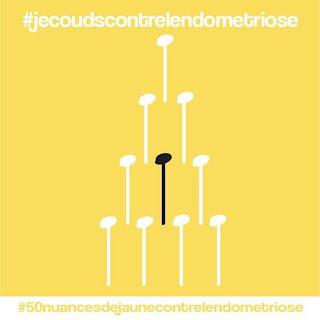 #50nuancesdejaunecontrelendometriose