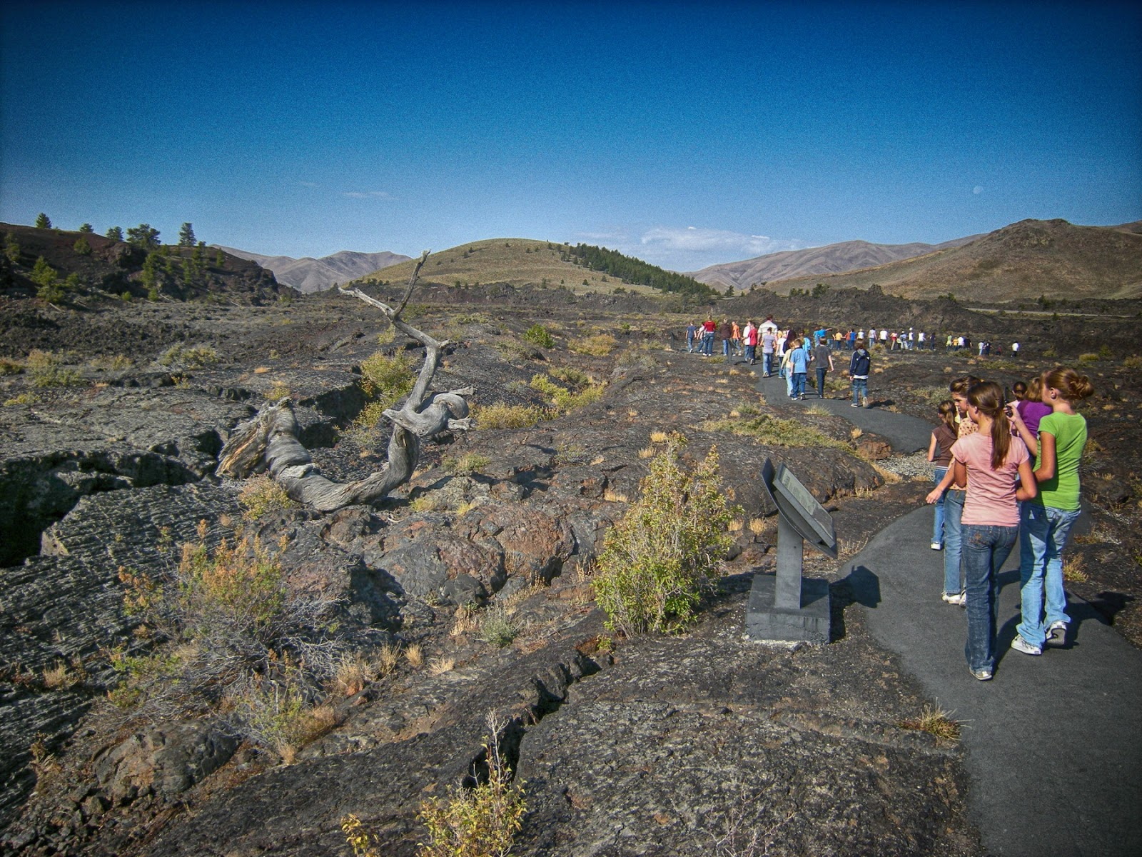 Craters of the Moon National Monument Idaho geology travel trip outdoors volcano volcanic Yellowstone lava basalt fieldtrip vacation destination ©RocDocTravel.com