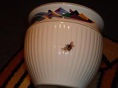 керамический горшок для комнатных цветов
