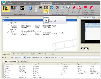 Cara Convert Video Dengan VSDC Video Editor 3