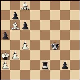 Partida de ajedrez Franco vs. Lladó, Campeonato de España de 1956, posición después de 59.Ac8