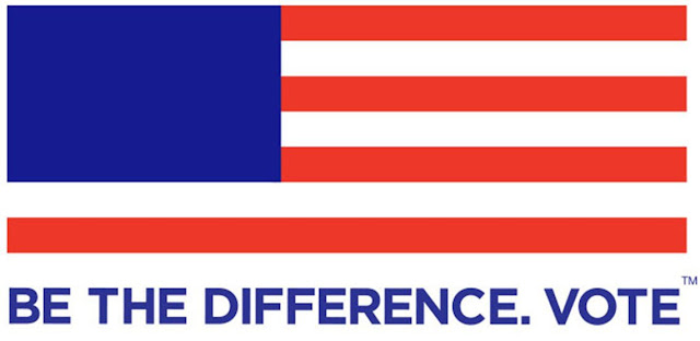 """Be The Difference. Vote"" - Logo"