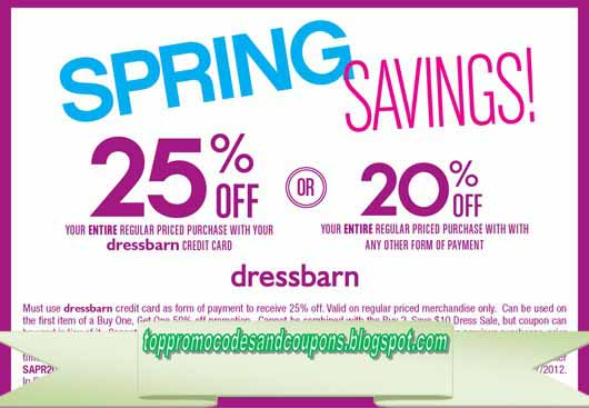 picture regarding Dress Barn Printable Coupon named Free of charge Promo Codes and Discount coupons 2019: Costume Barn Discount codes