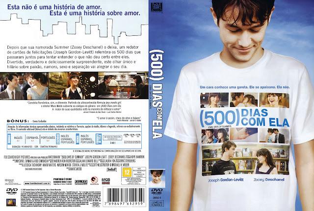 Capa DVD (500) DIAS COM ELA