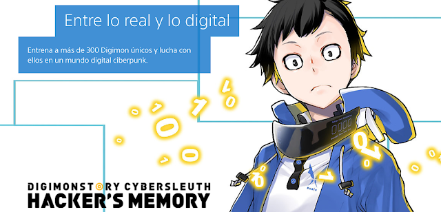 Análisis Digimon Story: Cyber Sleuth - Hacker's Memory