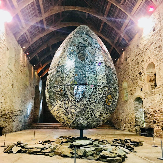 Buckland Abbey cosmic egg