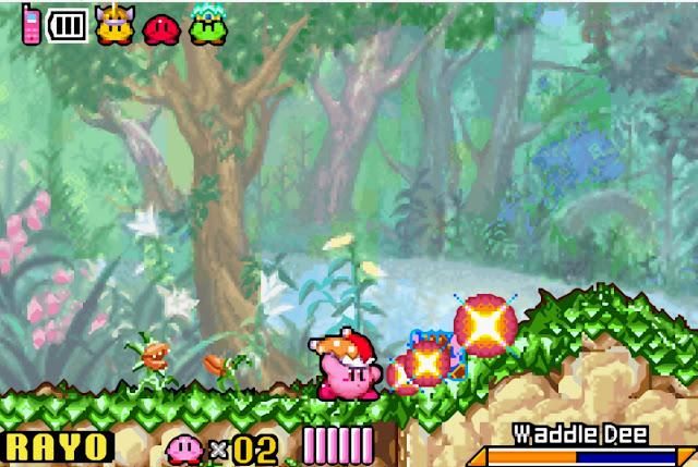 Kirby & the Amazing Mirror - Español - Captura 3