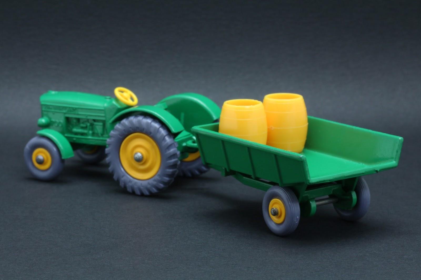 John Deere Matchbox Tractor : Diecast hobbist matchbox lesney series b