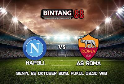 Prediksi Napoli vs AS Roma 29 Oktober 2018