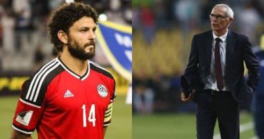 """كوبر يرفض عودة حسام غالي لمنتخب مصر مرة أخري ويهدد بالاستقالة """"تعرف علي التفاصيل"""""""
