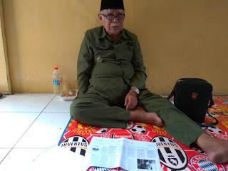 Mohon Do'a Nya Semoga Beliau Diberi Kesabaran, Air Mata Veteran Perang Kemerdekaan di Penggusuran Rawajati - Commando