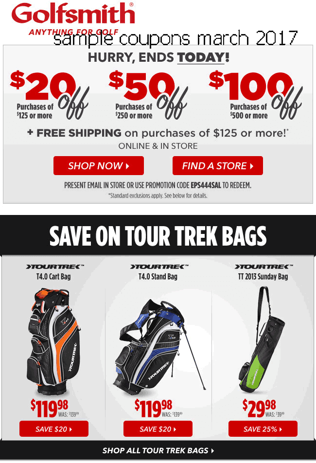 coupon golfsmith printable