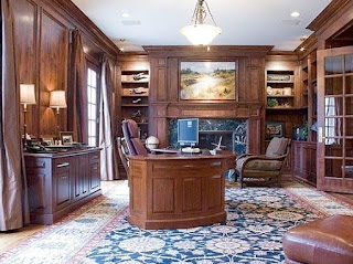 Peyton Manning House Workspace