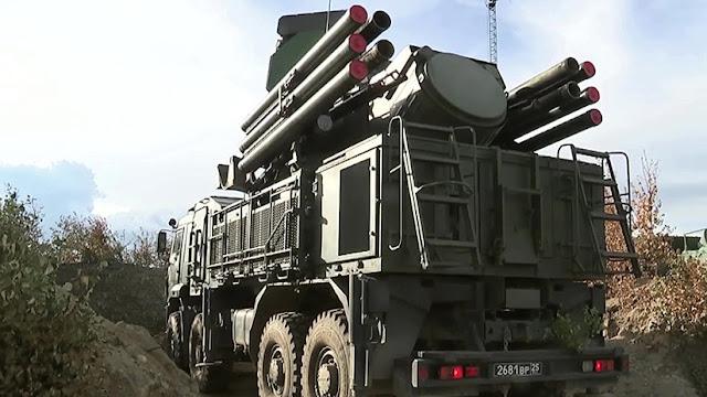 El 'terror' de los cuadricópteros: La Armada prueba el nuevo sistema de defensa antiaérea Pantsir-SM