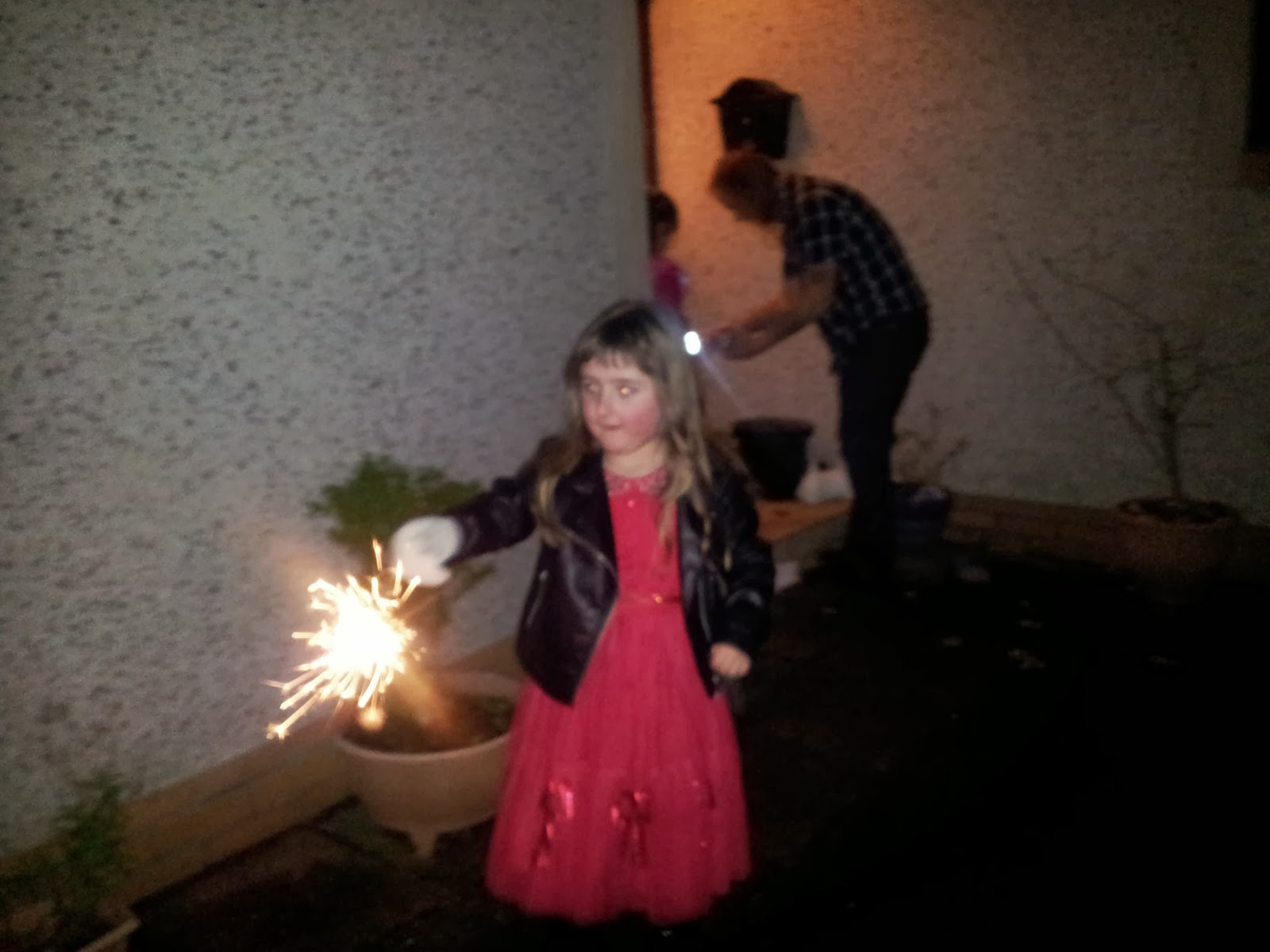 New Years Eve 2014 Sparklers