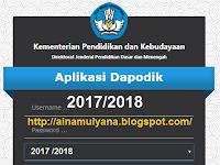 Download Aplikasi Dapodikdasmen Versi 2018 Tahun Ajar 2017/2018