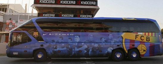 6dfa9fadfb36e El FC Barcelona ha presentado su Bus FCBotiga Mòbil
