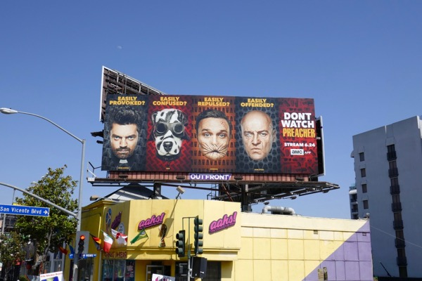Preacher season 3 billboard