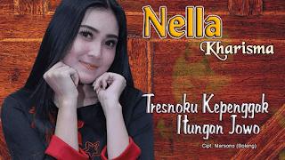 Lirik Lagu Tresnoku Kepenggak Itungan Jowo - Nella Kharisma