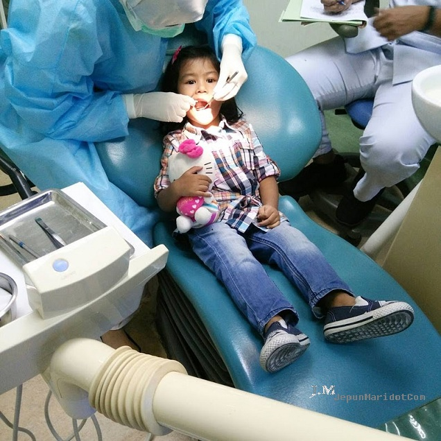 Jumpa dentistry kat UKM - Fina dan giginya