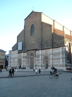 Laura Bassi was married at the Basilica of San Petronio in 1738
