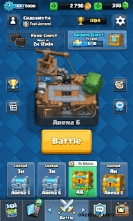 Arena 6 Game Clash Royale