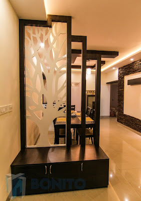 Home decor living room cnc wood designs will blow your mind for Foyer designs india