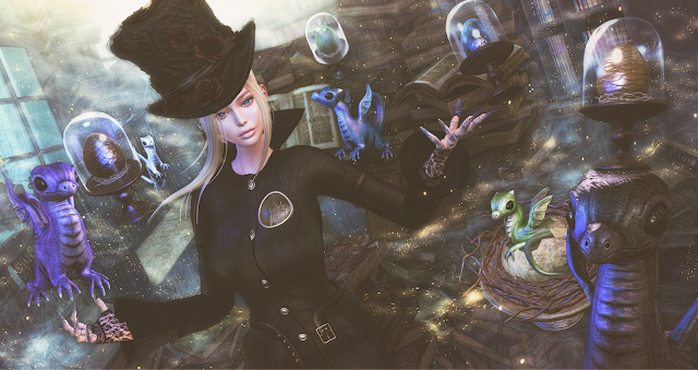 2019 0121 DRD@N21 | Eclipse Event - Wicca's Wardrobe & Noctis | The Epiphany - Glam Affair, Avi