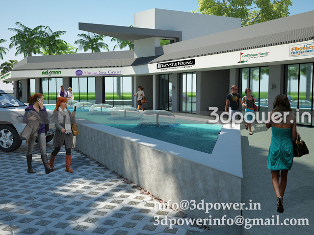 Club Side Township 3D