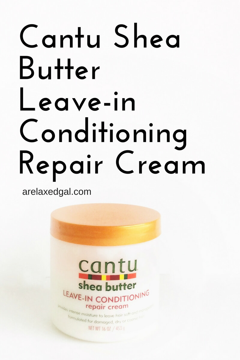 Review of Cantu Shea Butter Leave-in Conditioning Repair Cream | arelaxedgal.com