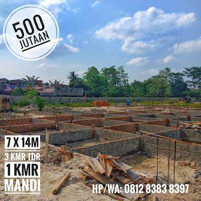Perkembangan Pembangunanan Flamboyan Suite Rumah 500 Jutaan Di Tengah Kota Medan Dekat Ke Ring Road Dan Setia Budi