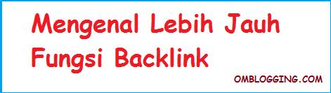 Contoh Seo Google Yang Baik, Mengenal Lebih Jauh Fungsi Backlink
