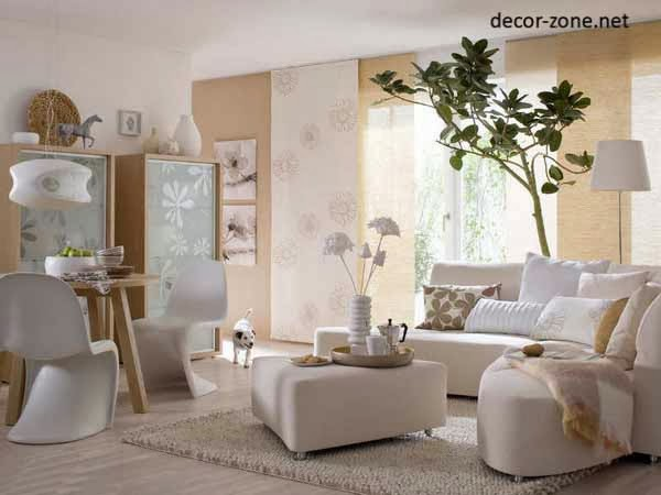 Stylish curtains for living room - ideas, designs, colors 2017