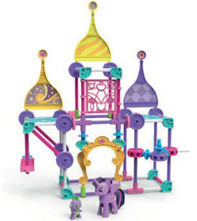 MLP K'NEX Set with Twilight Sparkle and Spike