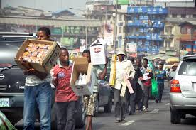 banning of street hawkers in Lagos