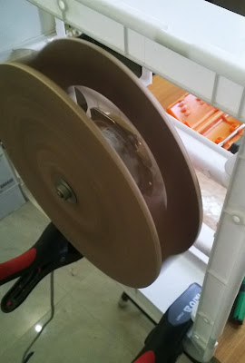 Homemade diy plywood centrifugal fan