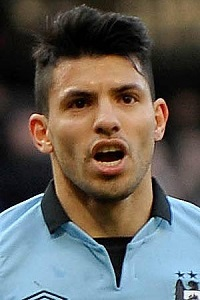Sergio Aguero's Black Faux Hawk Haircut